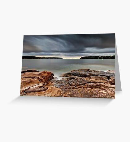 Textures of Land & Sky Greeting Card