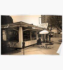 Fort Wayne, Indiana - Cindy's Diner Poster