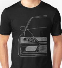 Evo outline - white Unisex T-Shirt