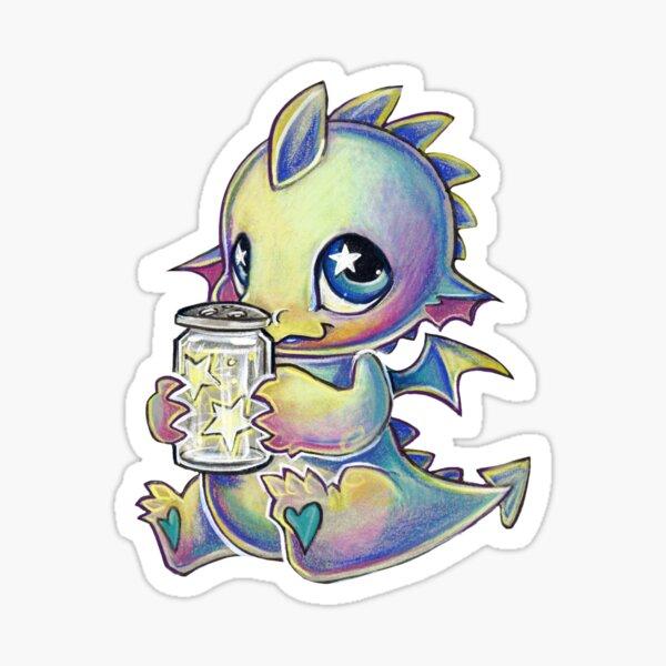 Starlight dragon Sticker
