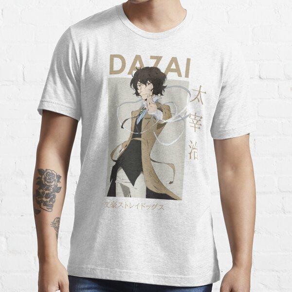 Osamu Dazai Bungou Stray Dogs Card Anime Essential T-Shirt
