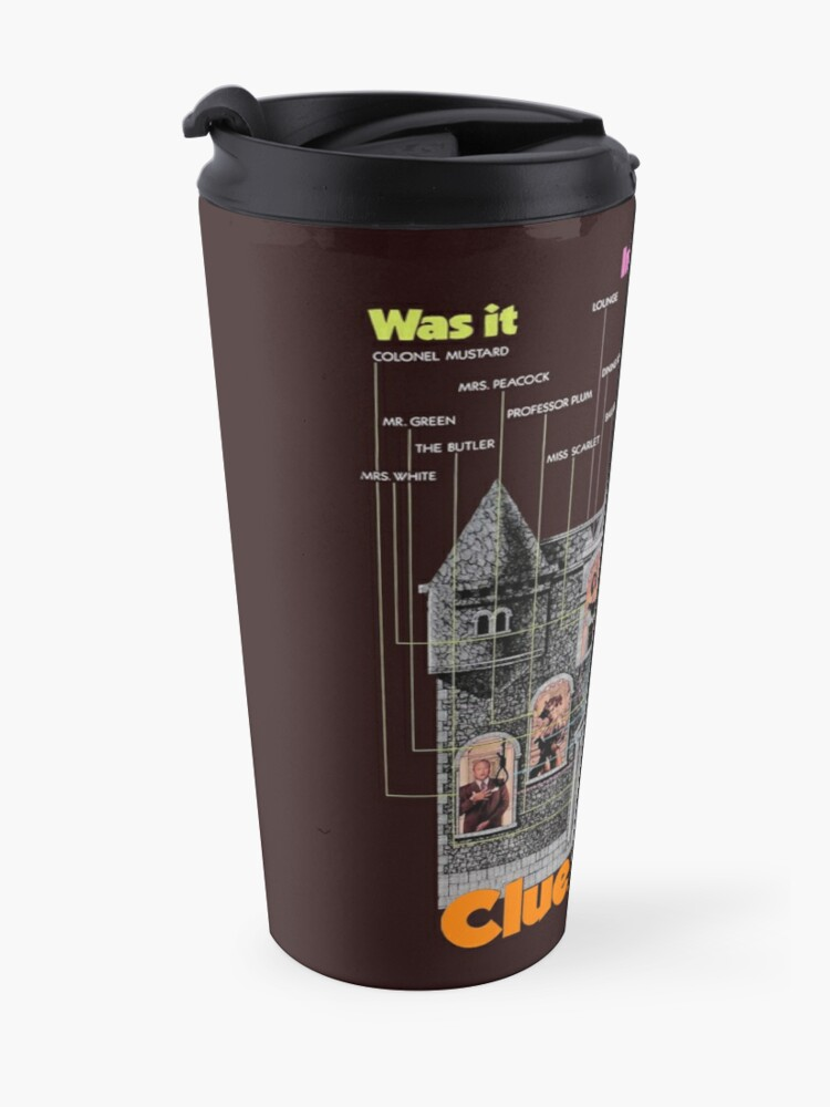 Alternate view of Clue Travel Mug