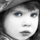 Sweet Little Blue Eyes by Kathy Baccari