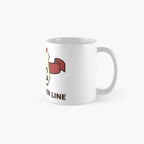 Wellsville, Addison & Galeton (WAG) Railroad - Sole Leather Line/Shield Merch. Classic Mug