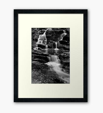 Rick's Hidden Falls Framed Print