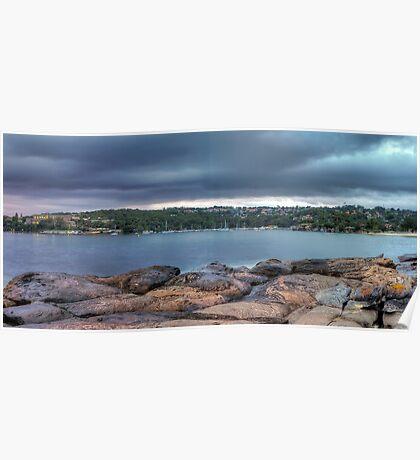The Rocks of Hunter Bay Poster