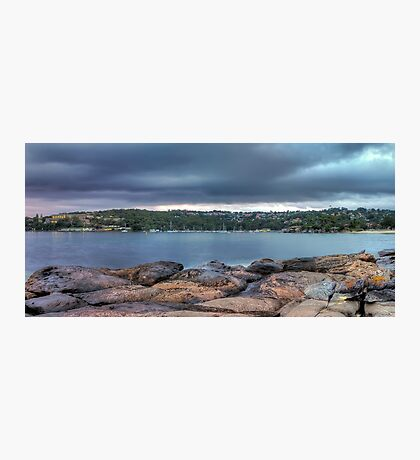 The Rocks of Hunter Bay Photographic Print