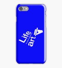 Art v Life - Blue iPhone Case/Skin