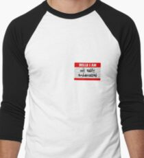 Hello, I am not easily embarrassed Men's Baseball ¾ T-Shirt