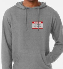 Hello, I am not easily embarrassed Lightweight Hoodie