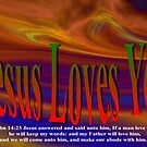 Jesus Valentine Card To You by ArtChances