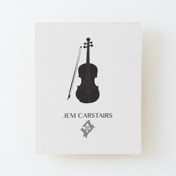 Shadowhunters The Infernal Devices Jem Carstairs Wood Mounted Print