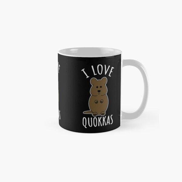 J'aime les quokkas Mug classique