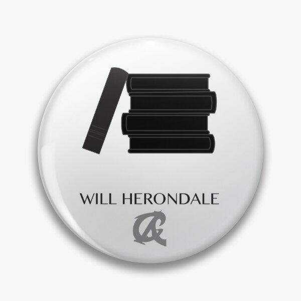 Cazadores de sombras Los dispositivos infernales Will Herondale Chapa