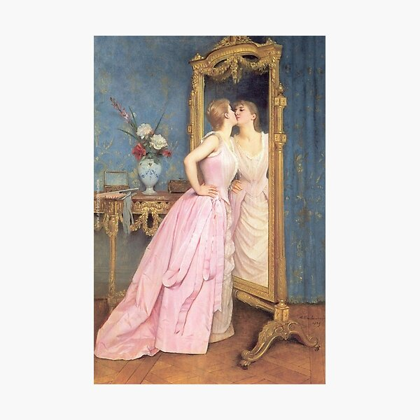 Vanity by Auguste Toulmouche Photographic Print