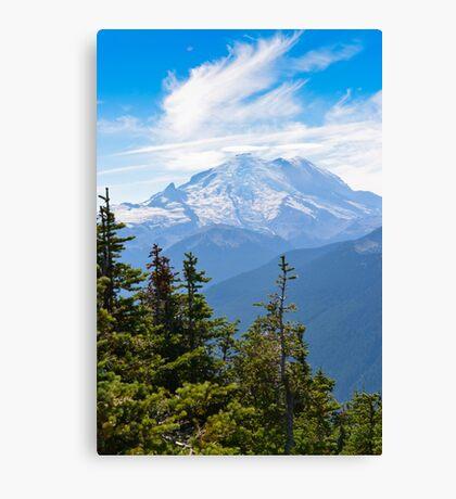 Mount Rainier - Paradise - National Park Canvas Print