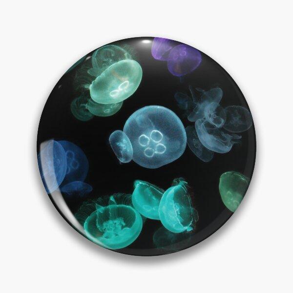 Luminous Jellyfish Pin