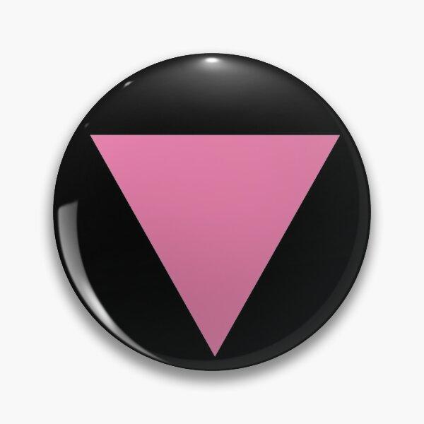 pink triangle Pin