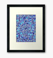 Moody blue Framed Print