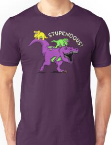 Stupendous! | Funny 90s Pop Culture Barney and Friends Dinosaur T-Shirt