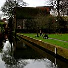 Sitting By The River Stour by rsangsterkelly
