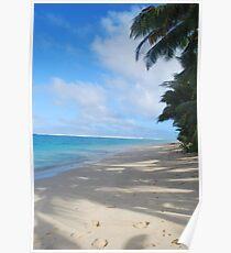 Raro Beach Poster