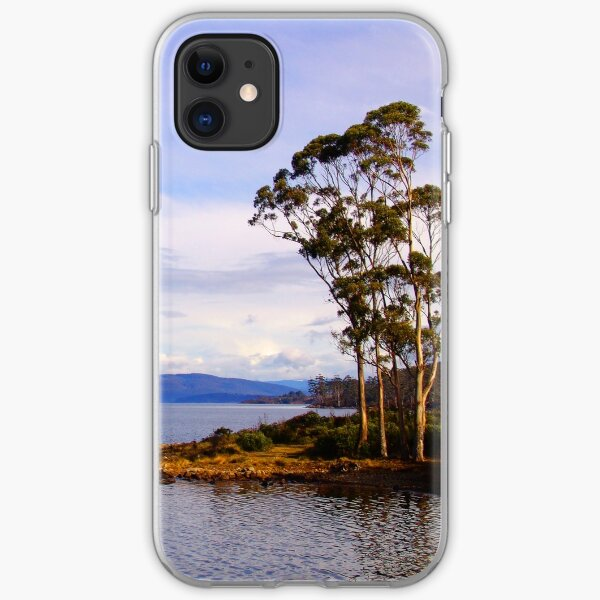 Trees by the coast iPhone Soft Case