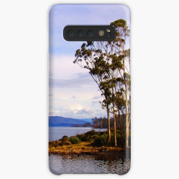 Trees by the coast Samsung Galaxy Snap Case