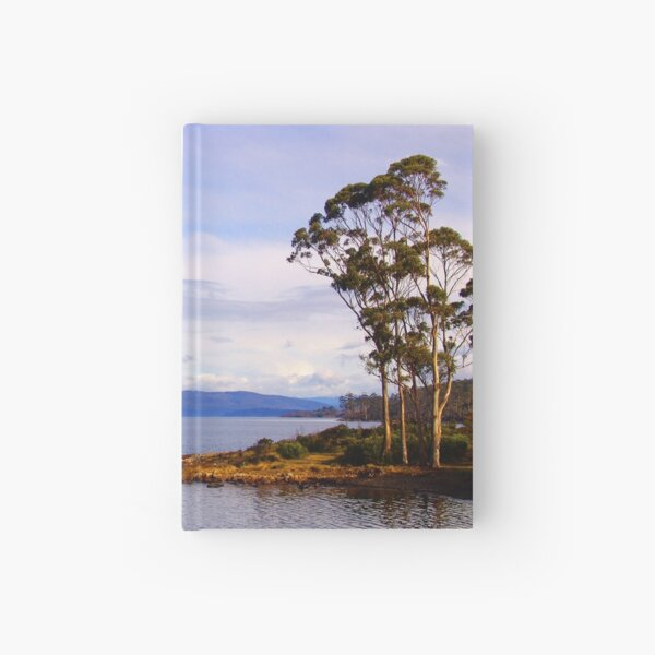 Trees by the coast Hardcover Journal