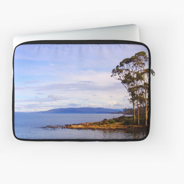 Trees by the coast Laptop Sleeve