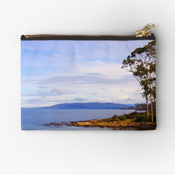 Trees by the coast Zipper Pouch
