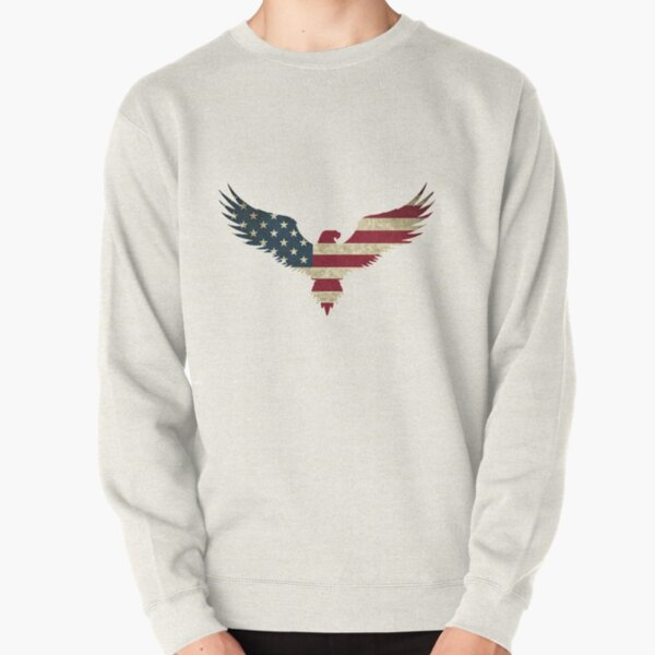 Weißkopfseeadler - Amerika Pullover