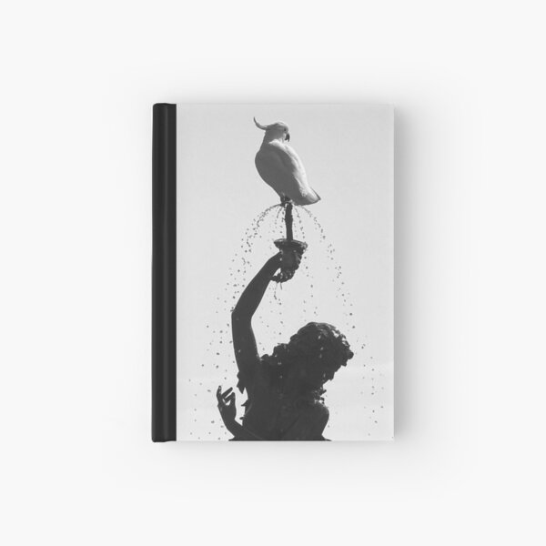 Diana with Cockatoo Hardcover Journal