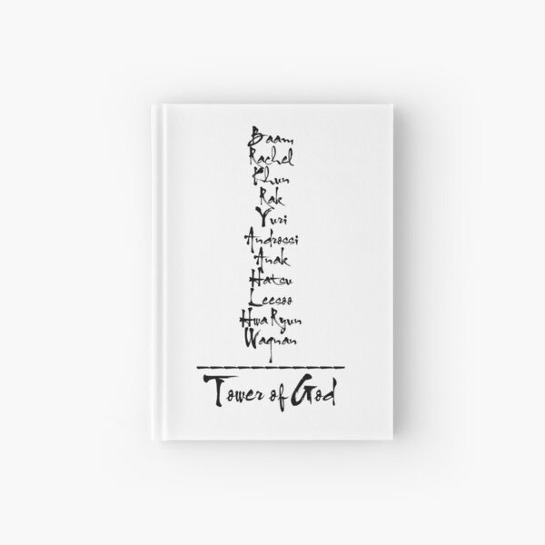 Tower of God - Tower of God Characters Hardcover Journal
