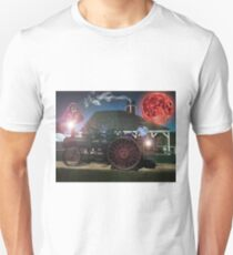 Redneck and his Purple Monkey with the Blood Moon Unisex T-Shirt