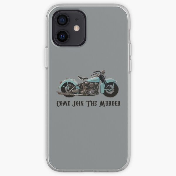 Come Join The Murder Design iPhone Soft Case
