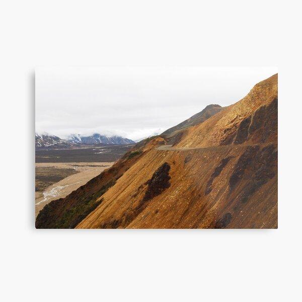 The Road Ahead - Denali National Park Metal Print