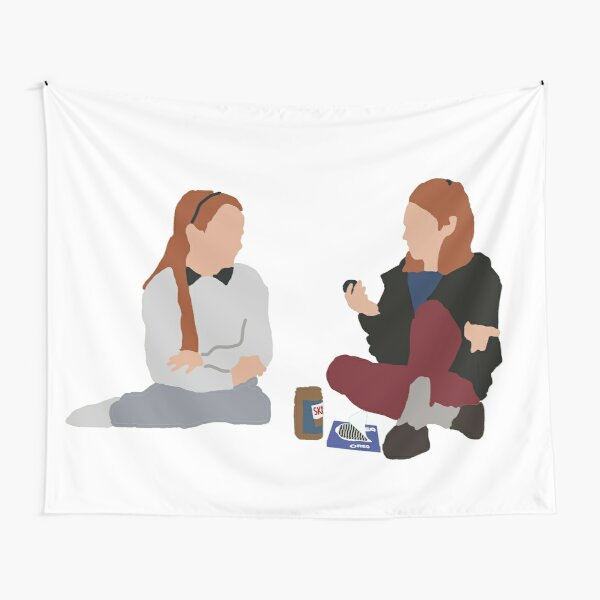 Hallie and Annie (from Parent Trap) Tapestry