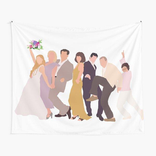 Mamma Mia Characters Tapestry