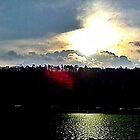 Cloudy Sunrise by Charldia