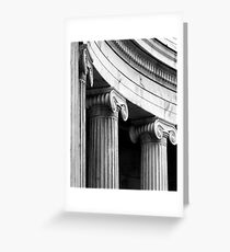 Classical details 2 Greeting Card
