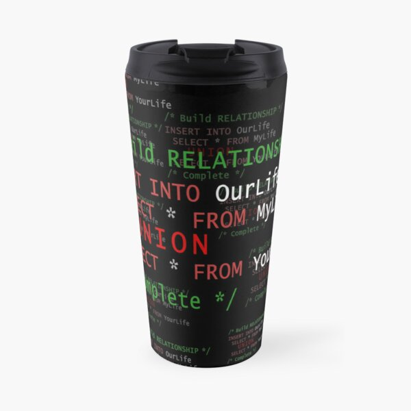 Build RELATIONSHIP Travel Mug