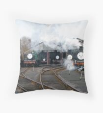 Family resemblance Throw Pillow