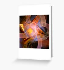 Playful abstract Greeting Card