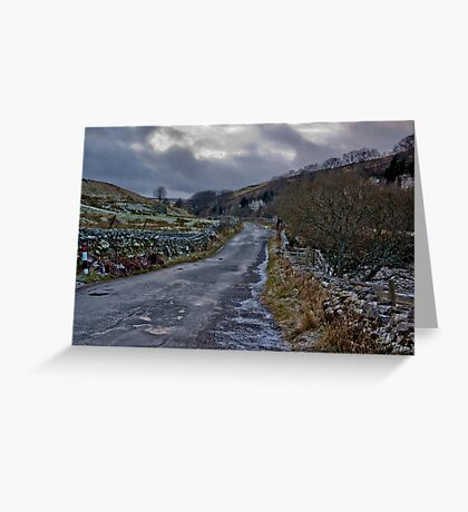 Country Road - Keld Greeting Card