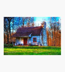 House on the Hill Photographic Print