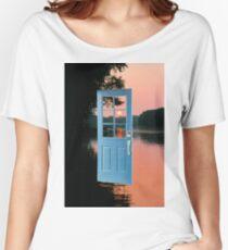 The portal to zen living Women's Relaxed Fit T-Shirt