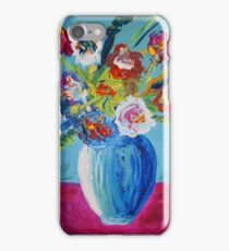 "Blue Vase Series ""Waiting Spring"" iPhone Case/Skin"