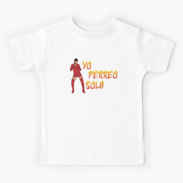 """Bad Bunny """"Yo Perreo Sola"""" Camiseta para niños"""