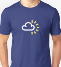 The weather series - Partly Cloudy Unisex T-Shirt